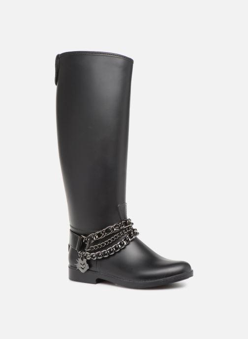 Botas Love Moschino Rain chain boot Negro vista de detalle / par