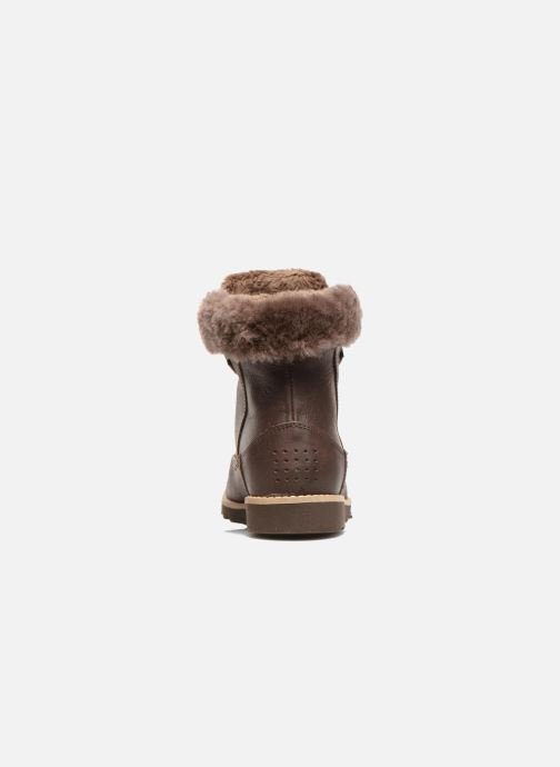 Ankle boots TBS Anaick Brown view from the right