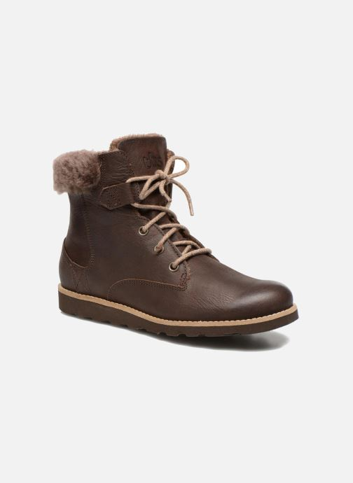 Ankle boots TBS Anaick Brown detailed view/ Pair view
