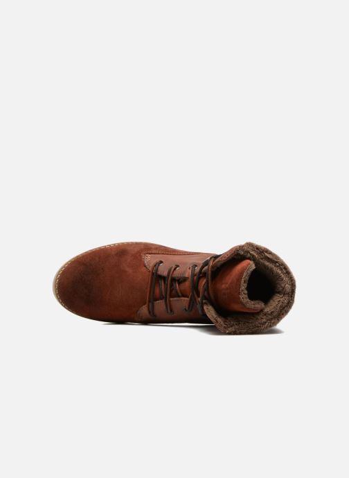 Bottines et boots TBS Anaick Orange vue gauche