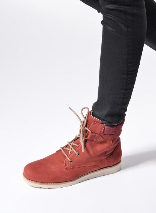 Stiefeletten & Boots TBS Anaick rot ansicht von unten / tasche getragen
