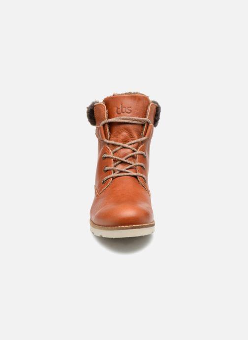 Bottines et boots TBS Anaick Marron vue portées chaussures