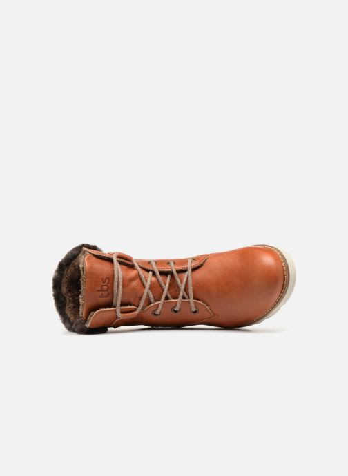Bottines et boots TBS Anaick Marron vue gauche