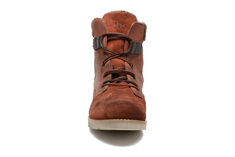 Bottines et boots TBS Anaick Orange vue portées chaussures
