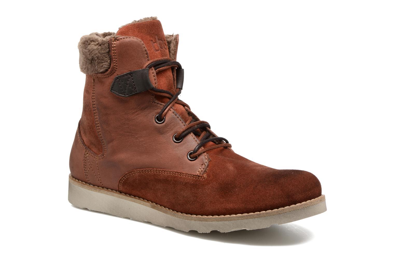 Bottines et boots TBS Anaick Orange vue détail/paire