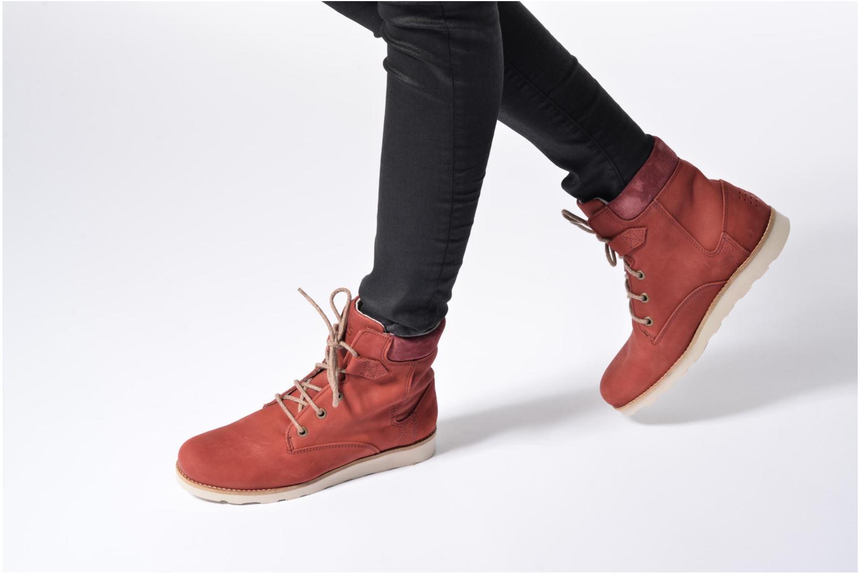 Bottines et boots TBS Anaick Rouge vue bas / vue portée sac