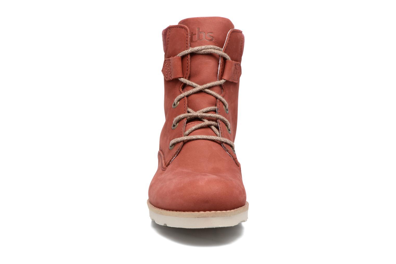 Bottines et boots TBS Anaick Rouge vue portées chaussures