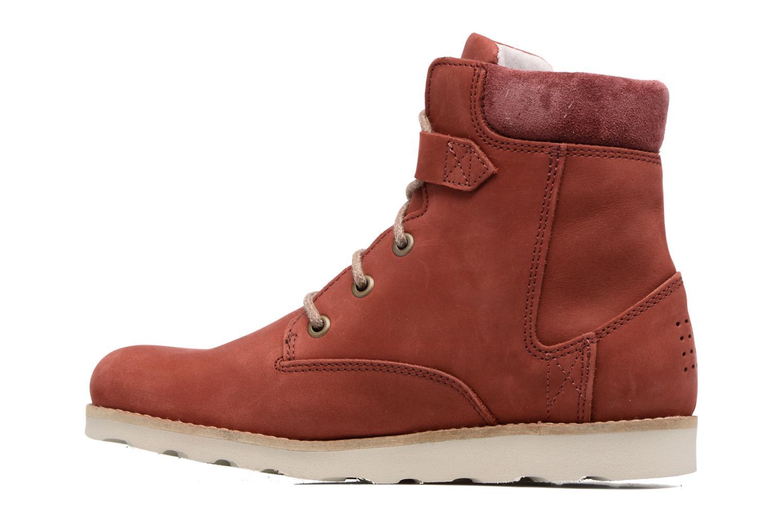 Bottines et boots TBS Anaick Rouge vue face