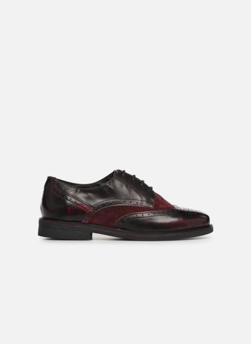 Lace-up shoes TBS Blasty Burgundy back view