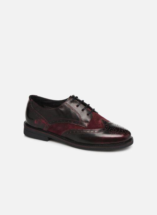 Zapatos con cordones TBS Blasty Vino vista de detalle / par