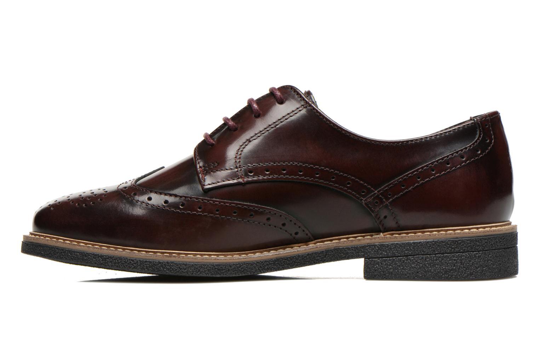 Chaussures à lacets TBS Blasty Bordeaux vue face