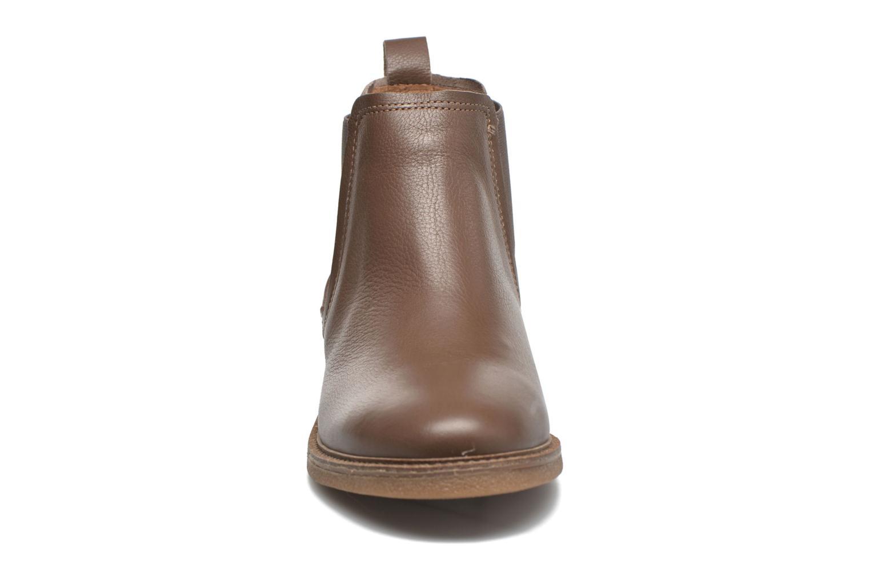 Bottines et boots TBS British Marron vue portées chaussures