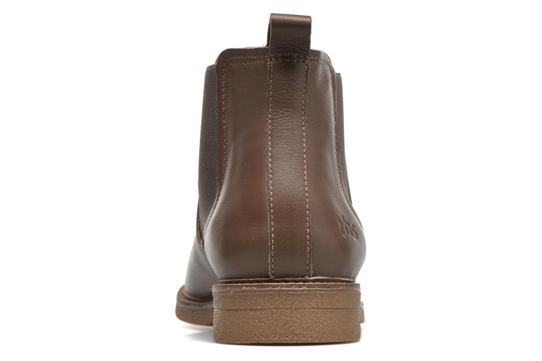 Bottines et boots TBS British Marron vue droite