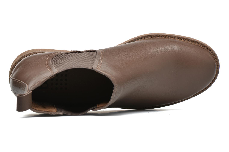 Bottines et boots TBS British Marron vue gauche