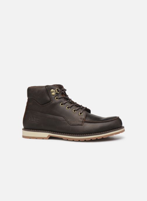 Lace-up shoes TBS Docker Brown back view