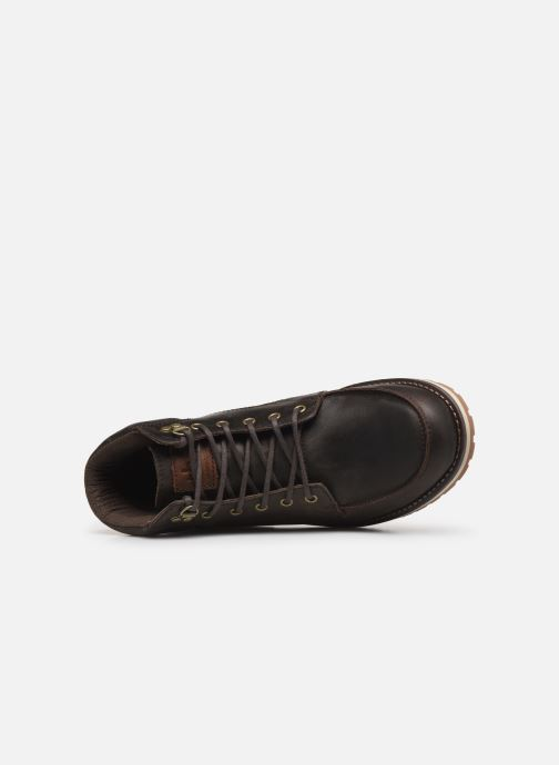 Lace-up shoes TBS Docker Brown view from the left