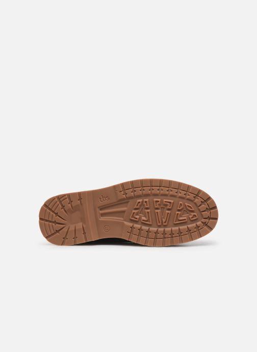 Chaussures à lacets TBS Docker Marron vue haut