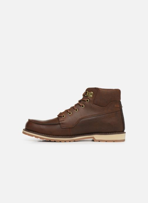 Lace-up shoes TBS Docker Brown front view