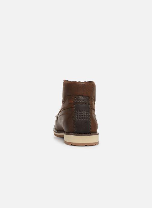 Chaussures à lacets TBS Docker Marron vue droite