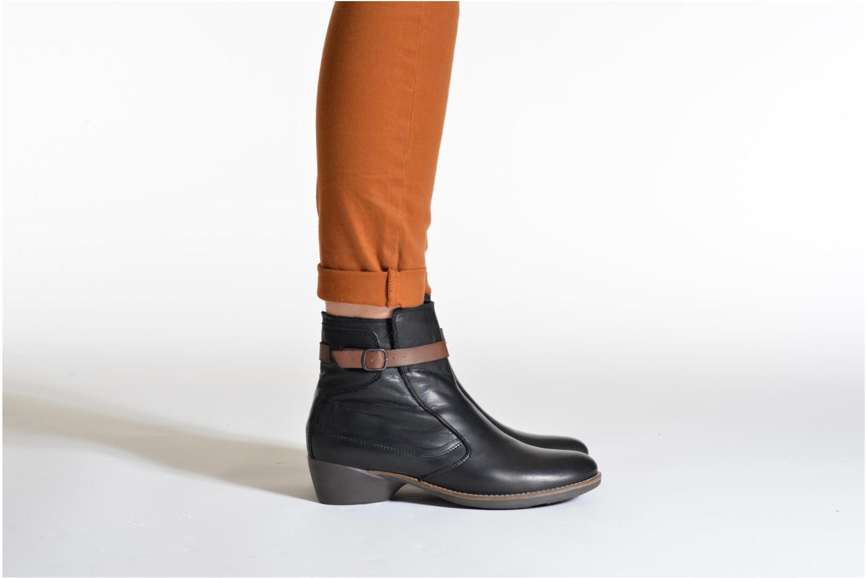 Bottines et boots TBS Gently Noir vue bas / vue portée sac
