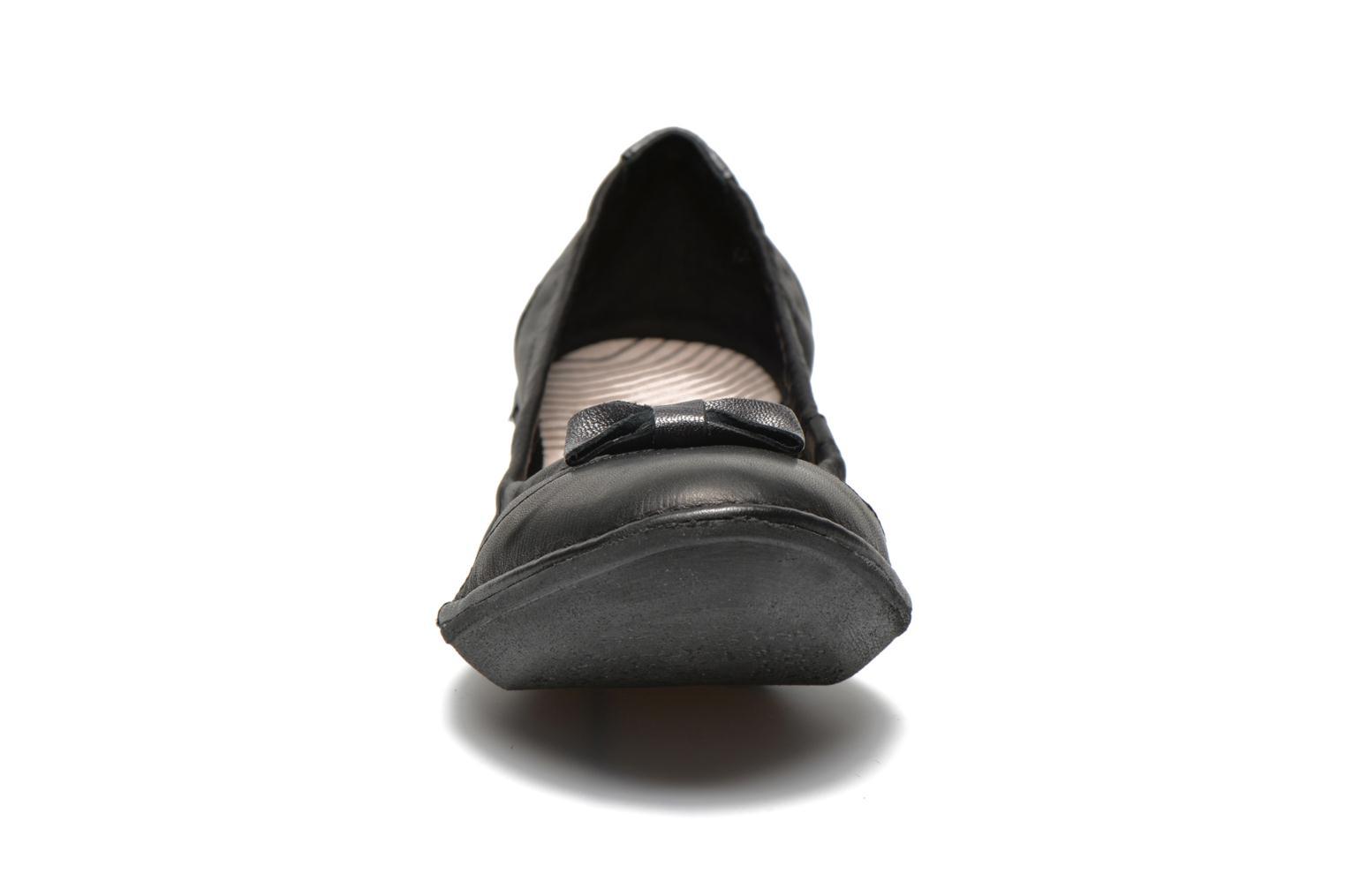 Ballerines TBS Sweety Noir vue portées chaussures
