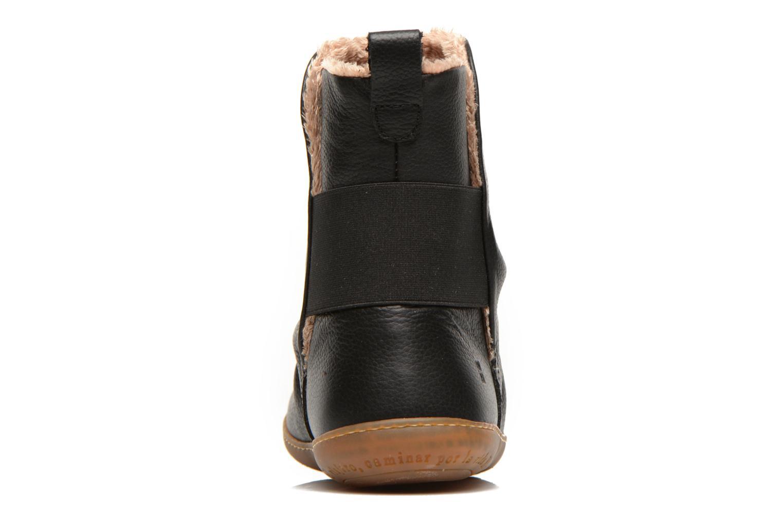 Bottines et boots El Naturalista Viajero NE13 Noir vue droite