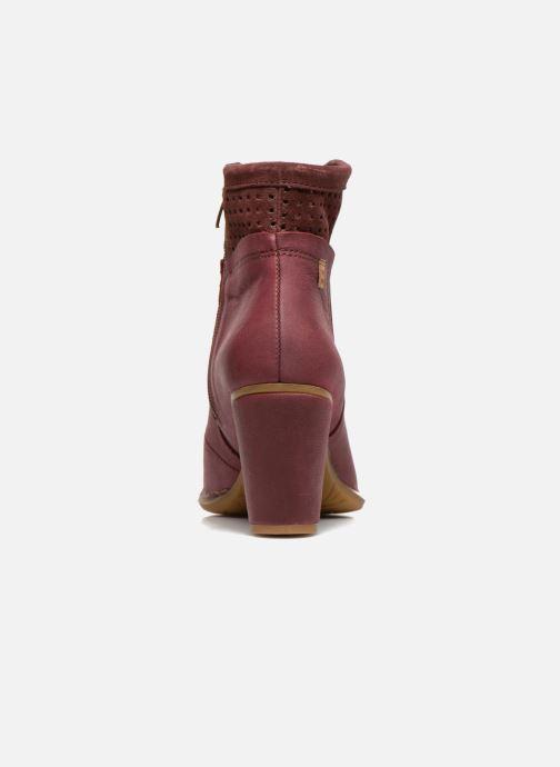 Boots en enkellaarsjes El Naturalista Colibri N495 Bordeaux rechts