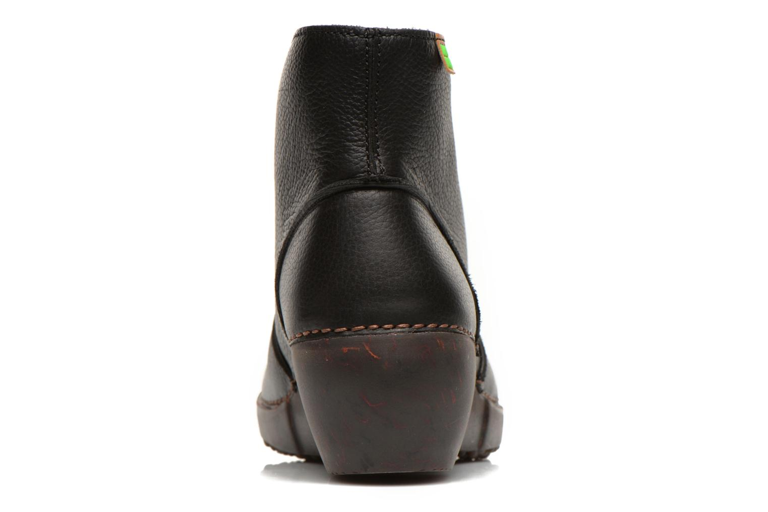 Ankle boots El Naturalista Tricot NC75 Black view from the right