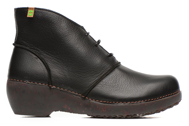 Ankle boots El Naturalista Tricot NC75 Black back view
