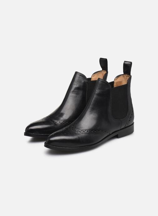Stiefeletten & Boots Melvin & Hamilton Jessy 4 schwarz ansicht von unten / tasche getragen