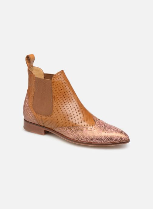 Ankle boots Melvin & Hamilton Jessy 4 Brown detailed view/ Pair view