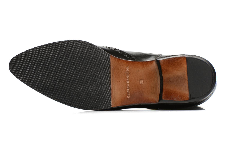 Bottines et boots Melvin & Hamilton Jessy 4 Noir vue haut