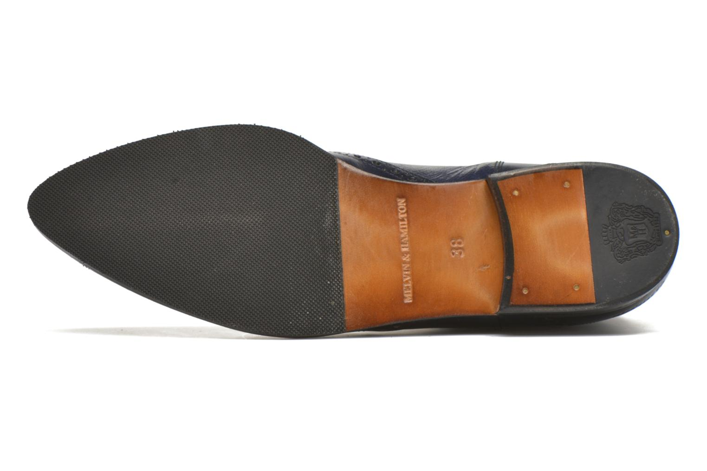 Bottines et boots Melvin & Hamilton Jessy 4 Bleu vue haut