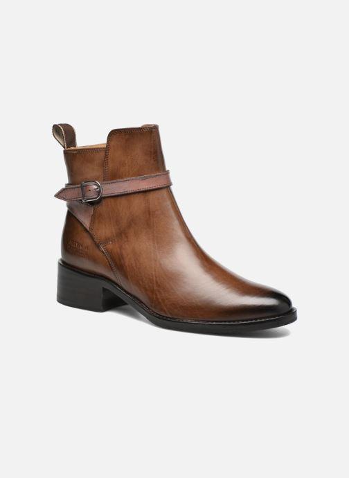 Boots en enkellaarsjes Melvin & Hamilton Elaine 8 Bruin detail