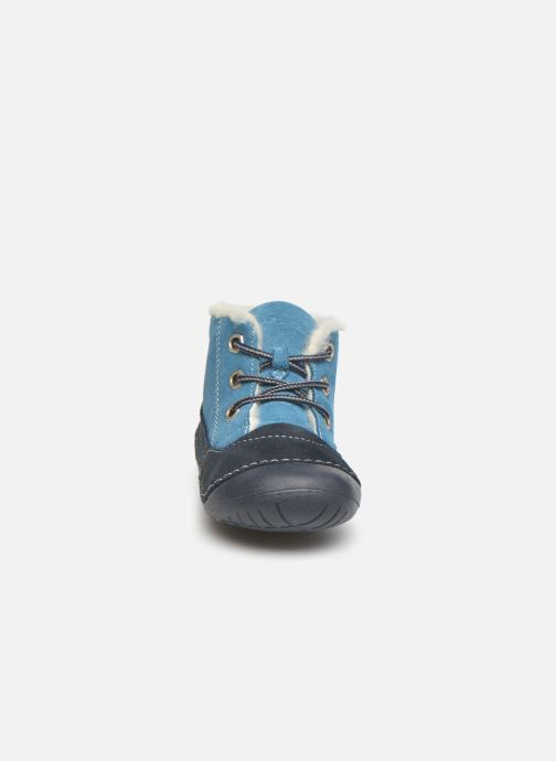 Stivaletti e tronchetti Primigi Raffyx-E Azzurro modello indossato