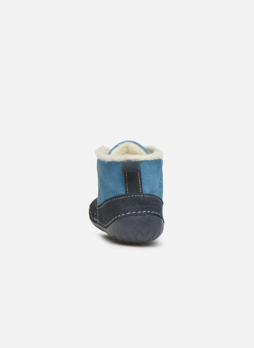 Stivaletti e tronchetti Primigi Raffyx-E Azzurro immagine destra
