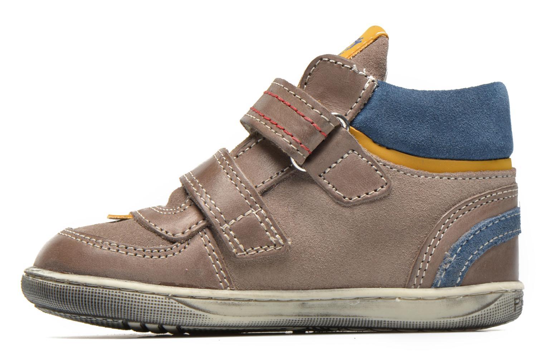 Chaussures à scratch Primigi Allen 1 Gris vue face