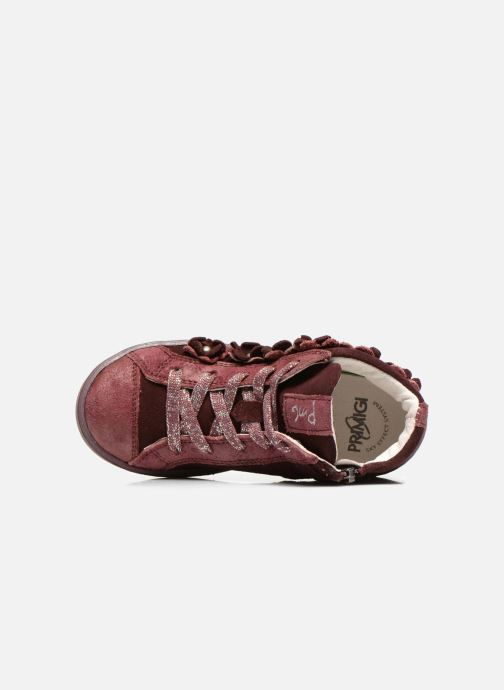 Trainers Primigi Etty 3 Burgundy view from the left