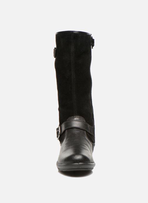 Bottes Primigi Velia-E Noir vue portées chaussures