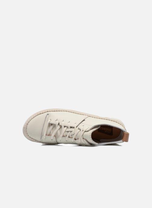 Baskets Clarks Originals Trigenic Flex W Blanc vue gauche