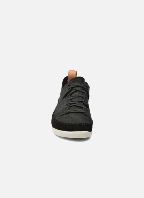 Sneaker Clarks Originals Trigenic Flex W schwarz schuhe getragen