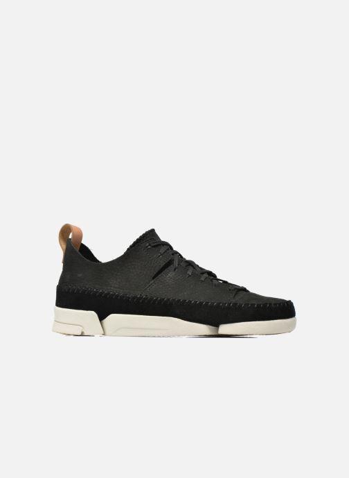 Sneaker Clarks Originals Trigenic Flex W schwarz ansicht von hinten