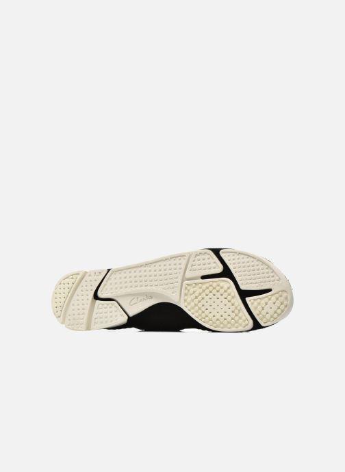 Baskets Clarks Originals Trigenic Flex W Noir vue haut