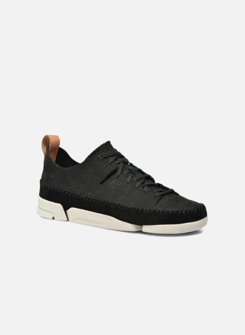 Sneakers Clarks Originals Trigenic Flex W Sort detaljeret billede af skoene
