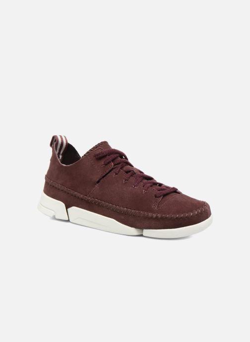 Sneaker Clarks Originals Trigenic Flex W weinrot detaillierte ansicht/modell