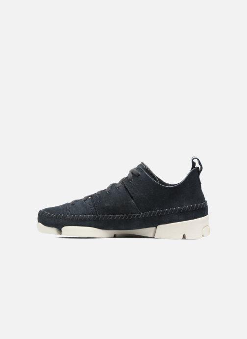 Sneakers Clarks Originals Trigenic Flex W Blauw voorkant