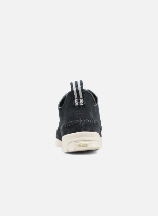 Sneakers Clarks Originals Trigenic Flex W Blauw rechts