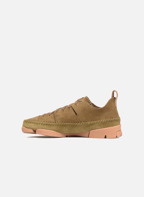 Sneakers Clarks Originals Trigenic Flex W Verde immagine frontale