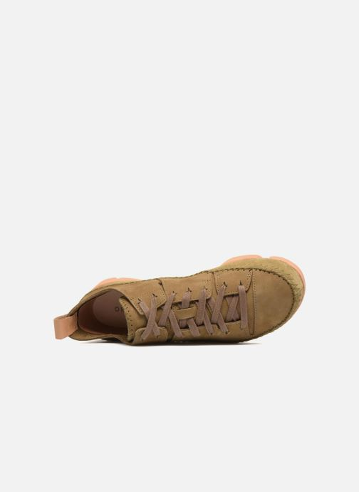 Sneakers Clarks Originals Trigenic Flex W Verde immagine sinistra