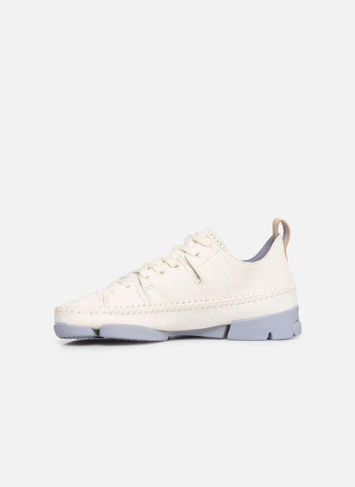 Sneakers Clarks Originals Trigenic Flex W Wit voorkant